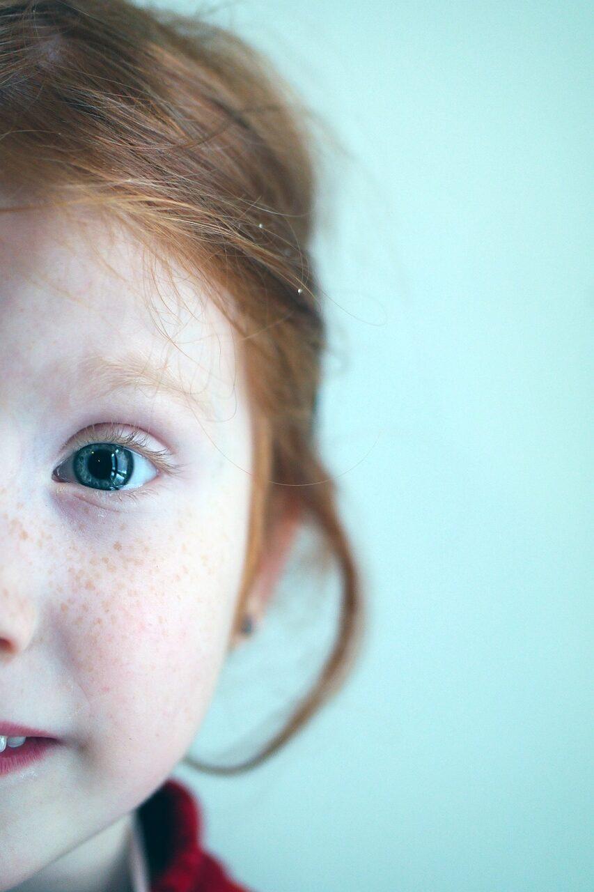 little girl, girl, kid